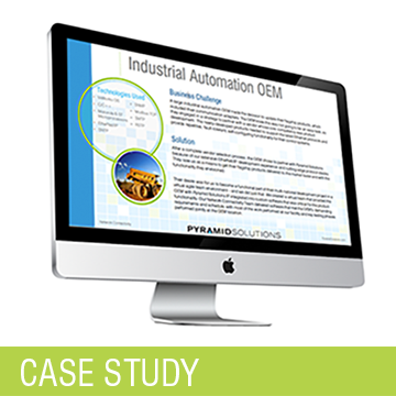 Industrial OEM Case Study