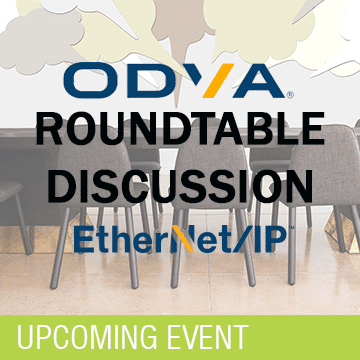 EtherNet/IP Round table ODVA