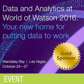 World of Watson Sponsorship for ECM
