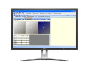 Packout and labeling software for manufacturing