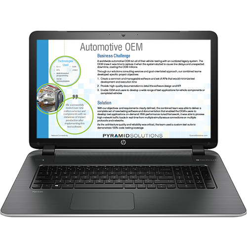 Automotive OEM Case Study