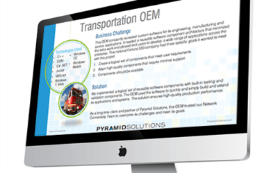 OEM Expands Systems With Reusable Software Application