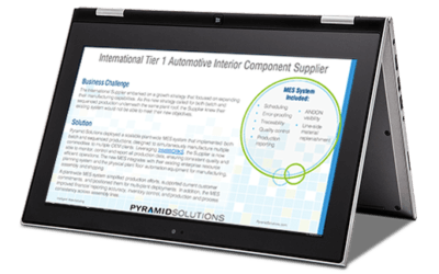 IntelliWORKS Enables Growth as a Plant-Wide MES
