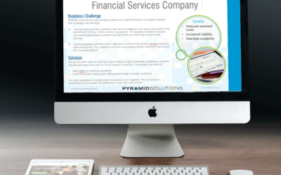 Financial Services Company Automates 16 Disparate Processes