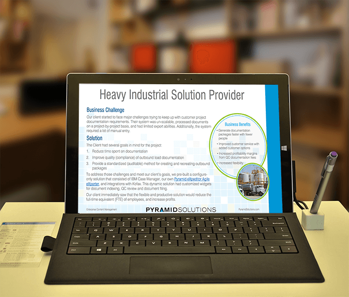 Agile Solution Transforms Documentation Packaging Process