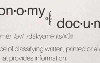 The Lean Approach to Enterprise Document Taxonomy