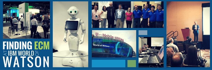 Finding ECM at World of Watson