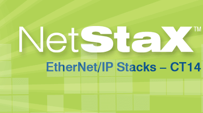 NetStaX Version 4.7.0 EtherNet/IP Stacks are ODVA CT14 Compliant