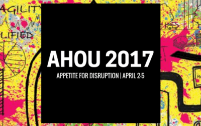 Feeding Our Appetite for Disruption at the AHOU 16th Annual Conference