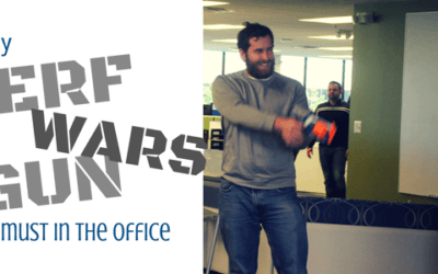 Why Nerf Gun Wars Are a Must in the Office