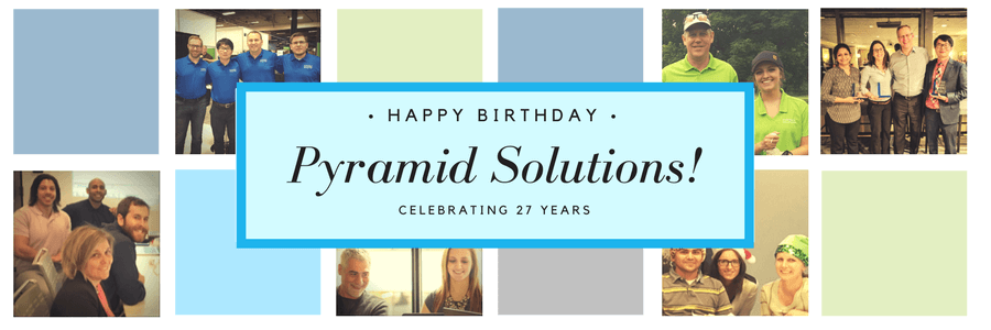Celebrating 27-Year History of Pyramid Solutions