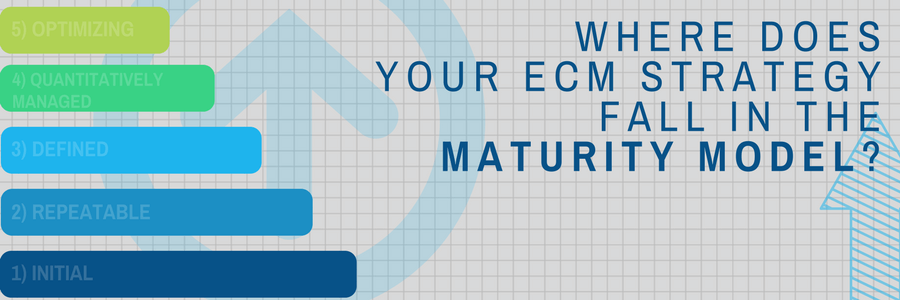 Where Do You Fall on the Maturity Model for Enterprise Content Management?