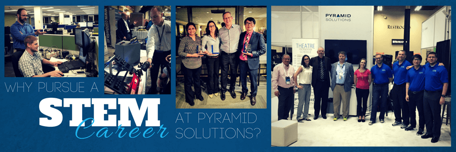 Why Pursue a STEM Career at Pyramid Solutions?