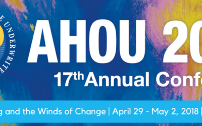 Underwriting and the Winds of Change | AHOU Annual Conference 2018