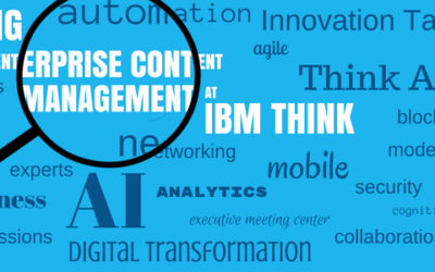 Where to Find ECM at IBM Think