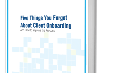 Five Things You Forgot About Client Onboarding