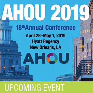 AHOU Annual Conference 2019