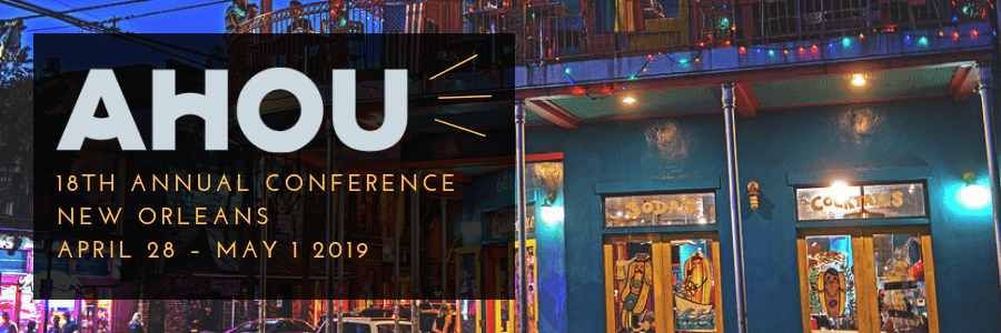 Breakouts by the Bijou | AHOU Annual Conference 2019