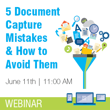 5 Common Document Capture Mistakes to Avoid