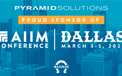 Pyramid Solutions Sponsors Annual AIIM Conference