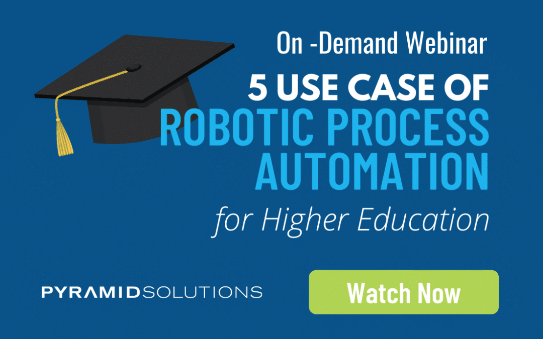5 RPA Use Cases for Higher Education