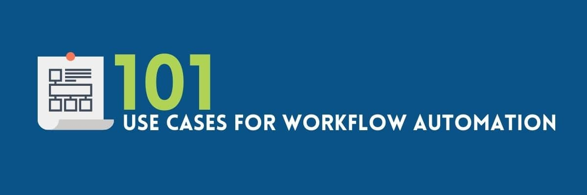 101 use cases for workflow automation hero graphic