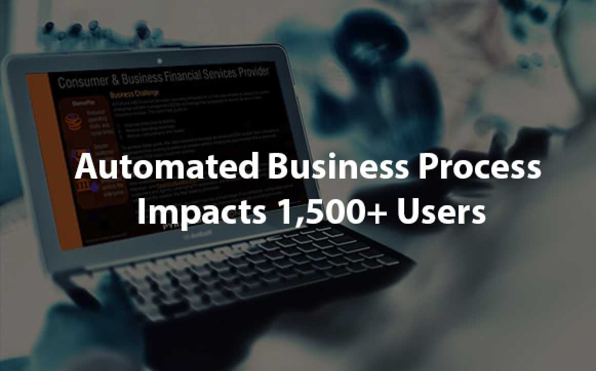 automated business process graphic