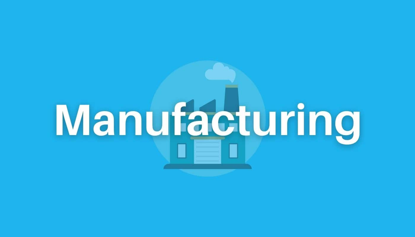 manufacturing workflow use cases graphic