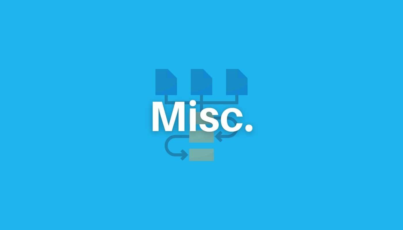 miscellaneous workflow use cases