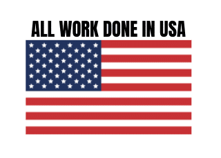 all work done in usa graphic