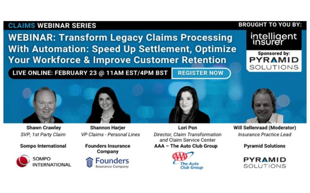 Transform Legacy Claims Processing with Automation: A Roundtable Discussion