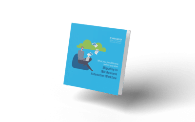 Your Guide to Migrating to IBM Business Automation Workflow eBook