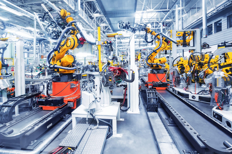 car factory image